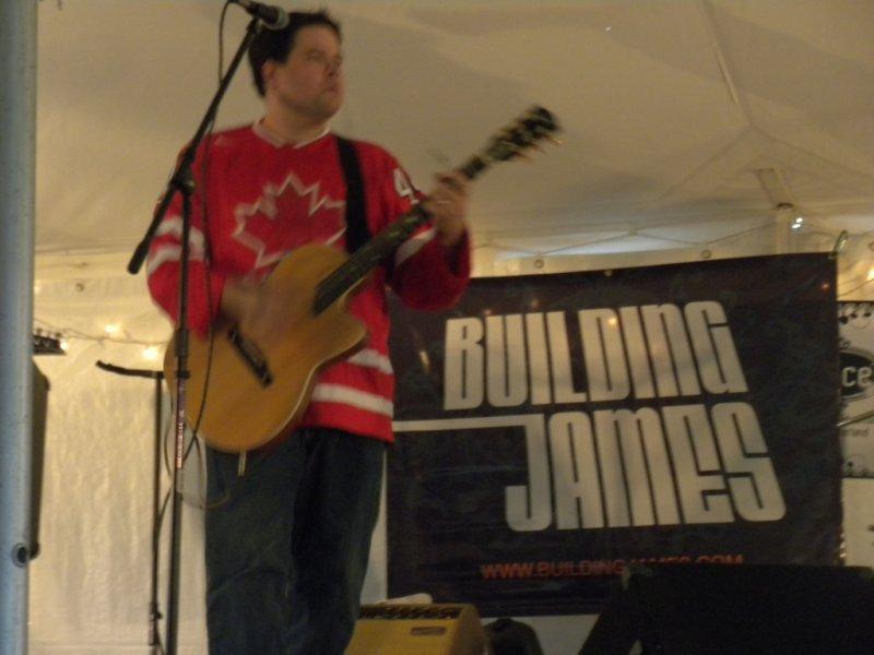 Building James - Chesterfest